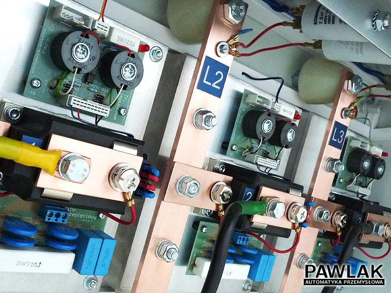 Tyrystorowy regulator prądu zgrzewania