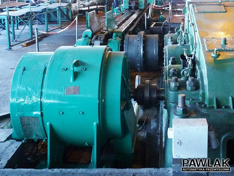 Silnik prądu stałego zasilany z przekształtnika tyrystorowego