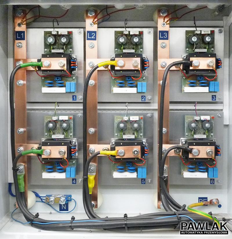 Regulator prądu zgrzewania do zgrzewarki