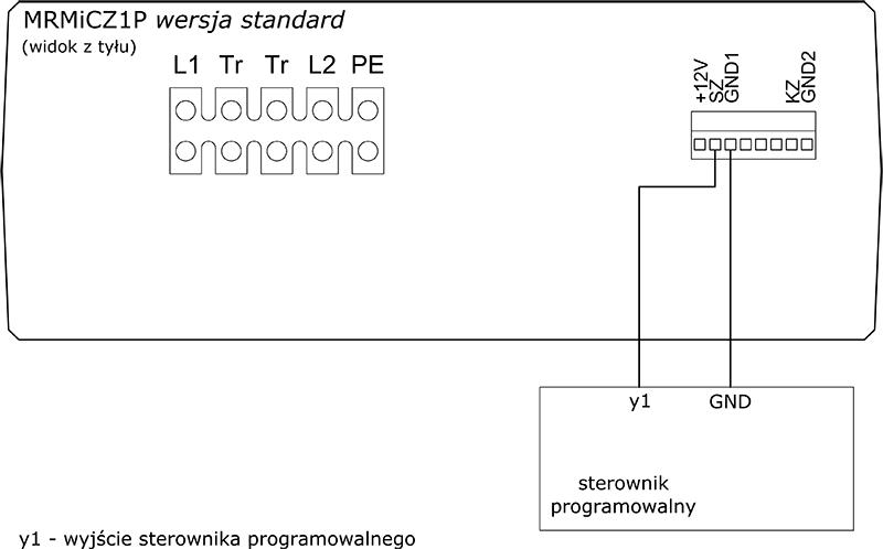 Mikroprocesorowy regulator mocy i czasu zgrzewania