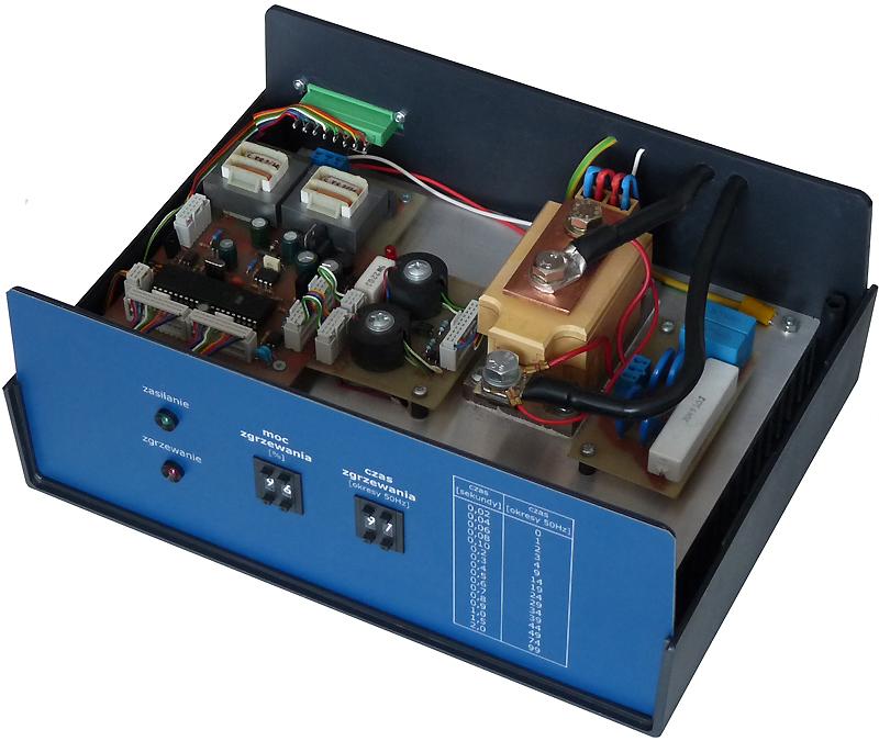 Mikroprocesorowy regulator mocy i czasu zgrzewania blok tyrystorowy